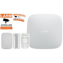 Ajax Startpaket Vit med Manöverpanel