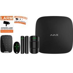 Ajax Startpaket med Manöverpanel Svart