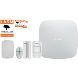 Ajax Startpaket med Manöverpanel Vit